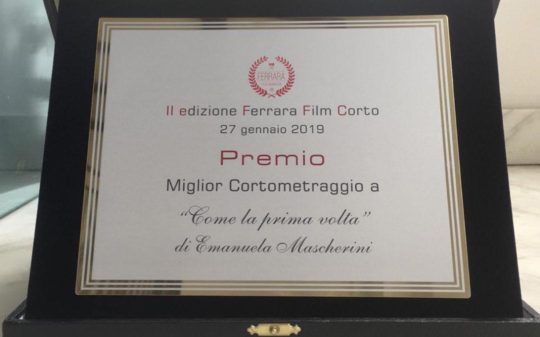 """""""Come la prima volta""""vince al Ferrara Film Corto"""