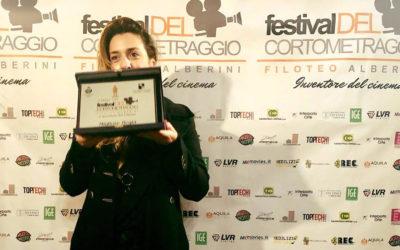 Emanuela Mascherini Miglior Regista al Festival Filoteo Alberini