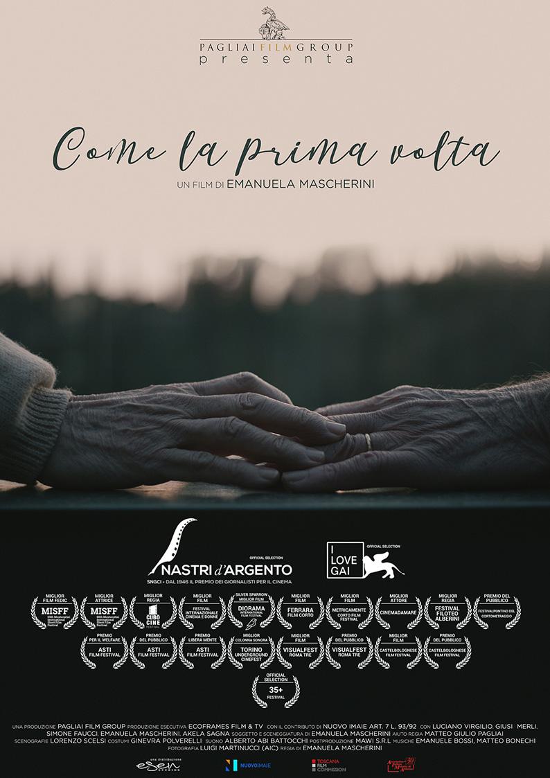"""Poster del film """"Lentamente"""" di Cristian Scardigno della sezione distribuzione cortometraggi"""