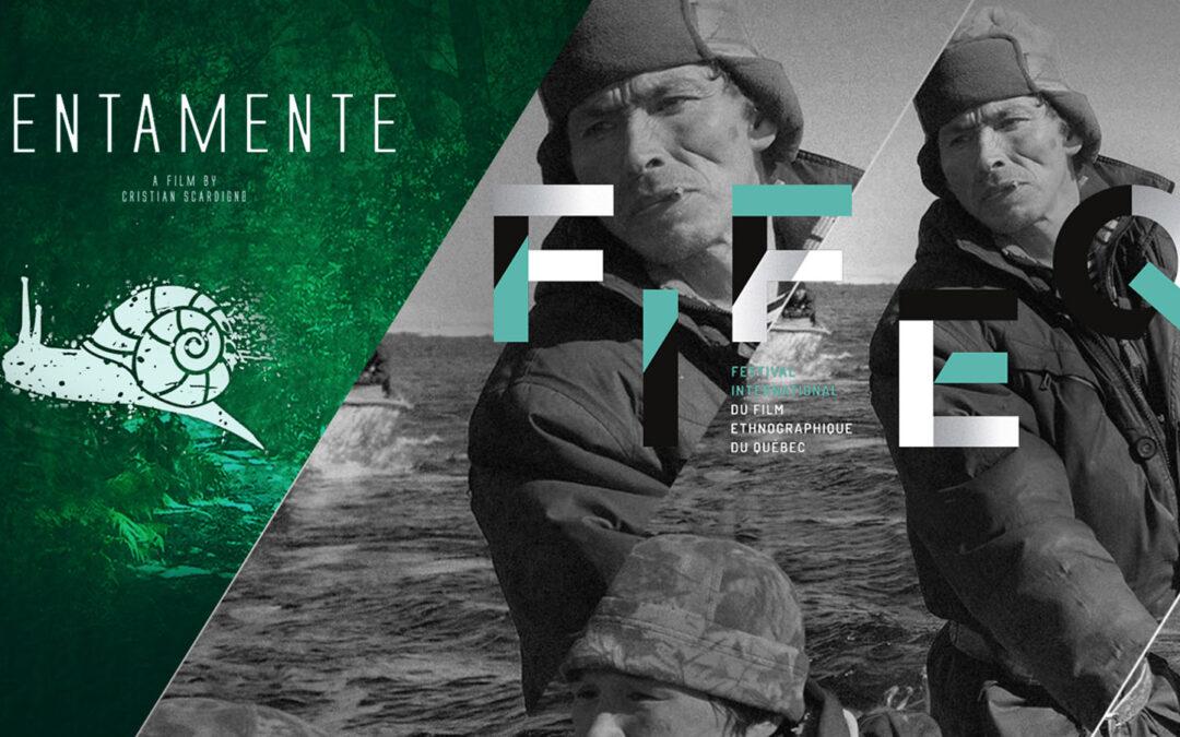 """""""Lentamente"""" al Ciné-Brunch 2021 del FIFEQ"""
