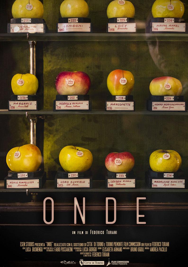 """Locandina del film cortometraggio """"Onde"""", di Federico Turani per la sezione distribuzione cortometraggi"""